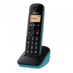 Ασύρματο Ψηφιακό Τηλέφωνο Panasonic KX-TGB610JTC Μαύρο - Τυρκουάζ 5025232939855