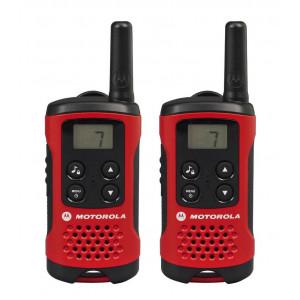 Walkie Talkie Motorola PMR T40 Red   Coverage 4 km 5031753006181
