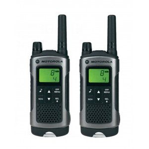 Walkie Talkie Motorola PMR T80 Black with Led Torch and Hands Free Connector   Coverage 10 km 5031753006235