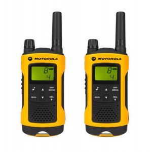 Walkie Talkie Motorola PMR T80 Extreme Orange, Waterproof, with Led Torch and Hands Free   Coverage 10 km 5031753006259