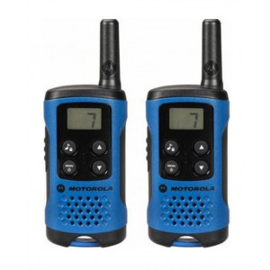 Walkie Talkie Motorola PMR T41 Blue   Coverage 4 km 5031753006556