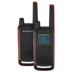 Walkie Talkie Motorola Go Adventure PMR T82 Μαύρο με Φακό Led και Υποδοχή Hands Free.  Εύρος Κάλυψης 10 km 5031753007232