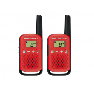 Walkie Talkie Motorola Go Live PMR T42 Κόκκινο. Εύρος Κάλυψης 4 km 5031753007492