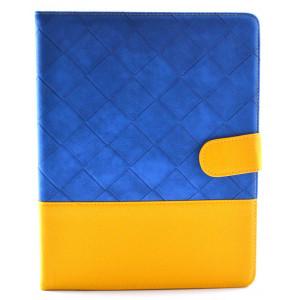 Θήκη Smart Ancus για Apple iPad 2, 3, 4 Μπλέ - Κίτρινη 5210029006906
