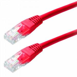 Καλώδιο Δικτύου Jasper Cat 5 UTP 1m Κόκκινο Patch Cord 5210029016851