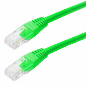 Καλώδιο Δικτύου Jasper Cat 5 UTP 1m Πράσινο Patch Cord 5210029016905