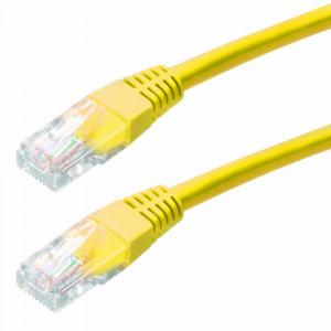 Καλώδιο Δικτύου Jasper Cat 5 UTP 0,5m Κίτρινο Patch Cord 5210029017001
