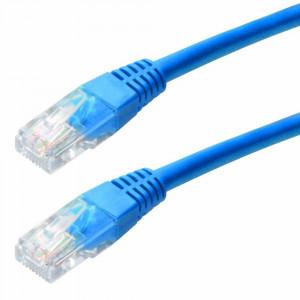 Καλώδιο Δικτύου Jasper Cat 5 UTP 0,25m Μπλέ Patch Cord 5210029017025