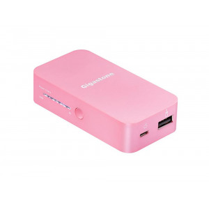 Power Bank Gigastone P1H-52S 5200 mAh Ρόζ 5210029026799