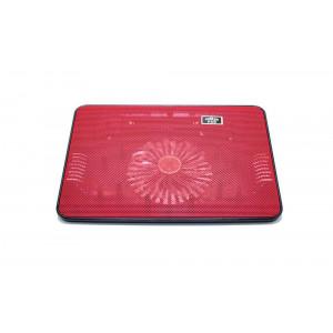 Laptop Cooler Mobilis Cooling Pad A6 Κόκκινο για Φορητούς Υπολογιστές έως 15 5210029034244