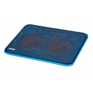 Laptop Cooler CoolCold Ice Thin K19 Μπλέ για Φορητούς Υπολογιστές έως 17 5210029034381