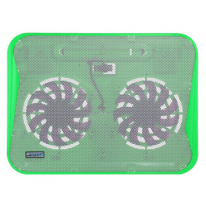 Laptop Cooler CoolCold Ice Thin K19 Green for Laptop up to 17 5210029034398