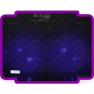 Laptop Cooler CoolCold Ice Thin K17-1(2 FANS) Μώβ για Φορητούς Υπολογιστές έως 15.6 5210029034565