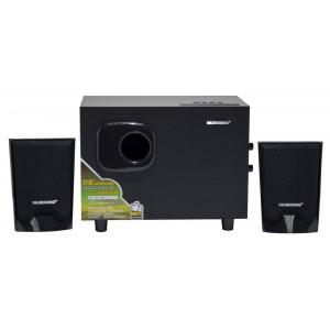 Ηχείο Stereo Multimedia Vaensong V-T100U 2.1 5W+3Wx2 RMS Μαύρο με Θύρα USB, SD 9.3x18.5x14cm 5210029038105