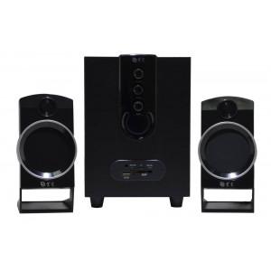 Ηχείο Stereo Multimedia Nakai SE-139 2.1 3Wx2+6W RMS Μαύρο με Θύρα USB, SD 17x8x5cm 5210029038181