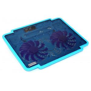 Laptop Cooler Mobilis K17 Μπλέ για Φορητούς Υπολογιστές έως 15.6 5210029038341