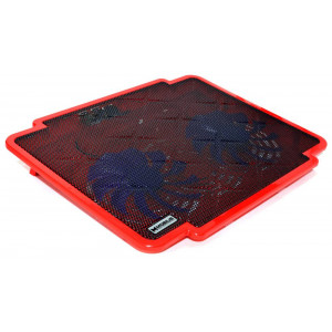 Laptop Cooler Mobilis K17 Red for Laptop up to 15.6 5210029038358