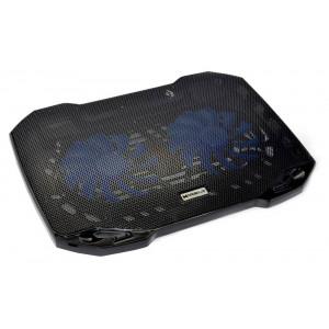 Laptop Cooler Mobilis F2 Μαύρο για Φορητούς Υπολογιστές έως 15.6 5210029038402