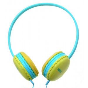 Stereo Headphones Keeka U-1 3.5 mm for Apple-Samsung-HTC-BlackBerry-LG Blue 5210029038433