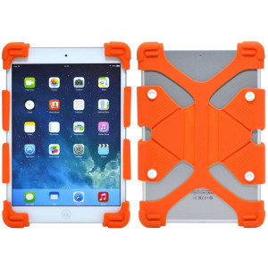 Silicone Case Ancus Universal for Tablet 7 - 8 Inches Orange (20 cm x 12 cm) 5210029046537