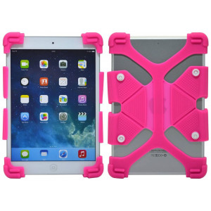 Silicone Case Ancus Universal for Tablet 7 - 8 Inches Fuchsia (20 cm x 12 cm) 5210029046551