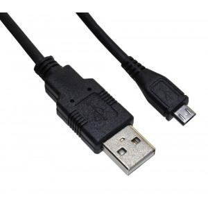 Καλώδιο σύνδεσης Ancus USB AM σε Micro USB B Μαύρο 3m 5210029047329