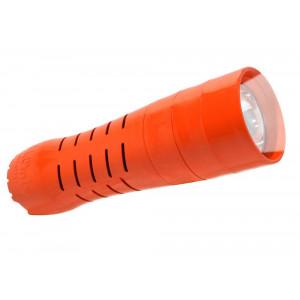 Φακός H2Only FL-102 Έκτακτης Ανάγκης, 0.5 Watt Cree Led 60 Lumens Πορτοκαλί (Λειτουργεί χωρίς Μπαταρίες) 5210029052033