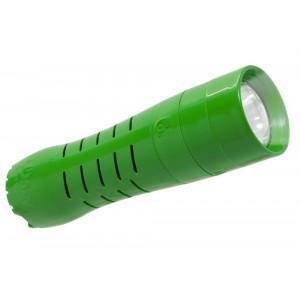 Φακός H2Only FL-101, 1 Watt Cree Led 110 Lumens Πράσινος (Λειτουργεί χωρίς Μπαταρίες) 5210029052040