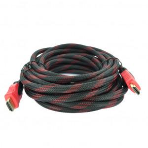 Ενισχυμένο Καλώδιο σύνδεσης Jasper HDMI 1.4 A Αρσενικό σε A Αρσενικό Gold Plated Copper 5m Μαύρο 5210029059421