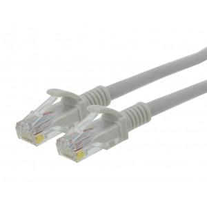 Καλώδιο Δικτύου Jasper Cat 6 UTP 0.5m Γκρί Patch Cord 5210029064296