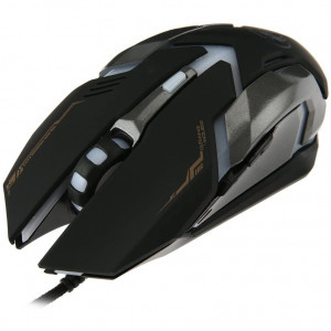 Ενσύρματο Ποντίκι iMICE V6 Gaming 6D με 6 Πλήκτρα, 3200 DPI, Πολυμεσικό και LED Φωτισμό. Μαύρο-Γκρι 5210029077746