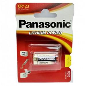 Μπαταρία Panasonic Lithium Power CR123AL/1BP 123/E123A/K123L/CR17345 3V Τεμ. 1 5410853017097