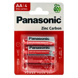 Μπαταρία Zinc Carbon Panasonic LR6 size AA 1.5 V Τεμ, 4 5410853032830