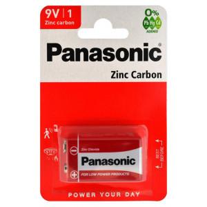 Μπαταρία Zinc Carbon Panasonic 6F22RZ 9V Τεμ, 1 5410853032892