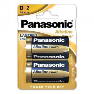 Μπαταρία Αλκαλική Panasonic Alcaline Power LR20APB/2BP size D Τεμ. 2 5410853039211