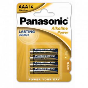 Μπαταρία Αλκαλική Panasonic Alcaline Power LR03APB/1BP size AAA 1.5V Τεμ, 4 5410853039334