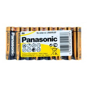 Μπαταρία Αλκαλική Panasonic Alcaline Power LR6APB/8P size AA 1.5 V Τεμ. 8 5410853041238