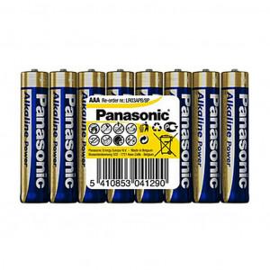 Μπαταρία Αλκαλική Panasonic Alcaline Power LR03APB/8P size AAA 1.5V Τεμ, 8 5410853041290