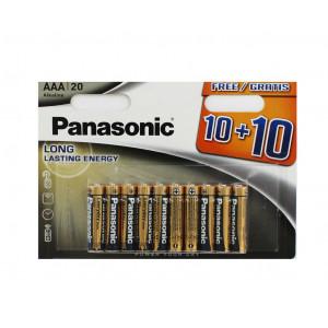 Μπαταρία Αλκαλική Panasonic Everyday Power LR03 size AAA 1.5V Τεμ, 20 5410853049449