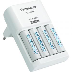 Φορτιστής Μπαταριών Panasonic Eneloop BQ-CC17 για AA/AAA με 4 ΑΑ Μπαταρίες 1900mAh 5410853052296