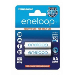 Rechargeable Battery Panasonic eneloop BK-3MCCE/2BE 1900 mAh size AA Ni-MH 1.2V Τεμ. 2 5410853052623