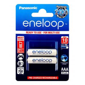 Μπαταρία Επαναφορτιζόμενη Panasonic Eneloop BK-4MCCE/2BE 750 mAh size AAA Ni-MH 1.2V Τεμ. 2 5410853052678