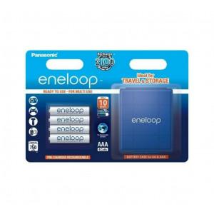 Μπαταρία Επαναφορτιζόμενη Panasonic Eneloop BK-4MCCEC4BE 750 mAh size AAA Ni-MH 1.2V Τεμ. 4 με κουτί αποθήκευσης 5410853052708