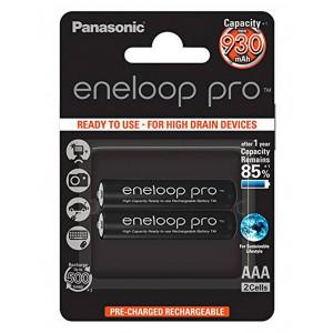Rechargeable Battery Panasonic eneloop pro BK-4HCDE/2BE 930 mAh size AAA Ni-MH 1.2V Τεμ. 2 5410853057185