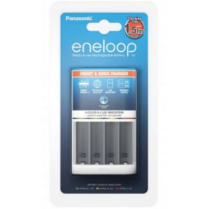 Φορτιστής Μπαταριών Panasonic Eneloop BQ-CC55E Smart & Quick για AA/AAA 5410853057628