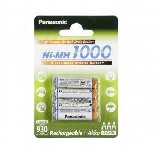 Μπαταρία Επαναφορτιζόμενη Panasonic Ni-MH 1000 BK-4HGAE/4BE 930 mAh size AAA 1.2V Τεμ. 4 5410853058687
