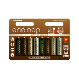 Μπαταρία Επαναφορτιζόμενη Panasonic Eneloop Tones Earth BK-3MCCE/8UE 1900 mAh size AA Ni-MH 1.2V Τεμ. 8 5410853060710