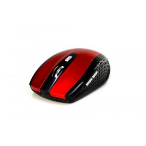 Ασύρματο Ποντίκι Media-Tech Raton Pro MT1113R 1200cpi με 3 Πλήκτρα Μαύρο-Κόκκινο 5900882855727