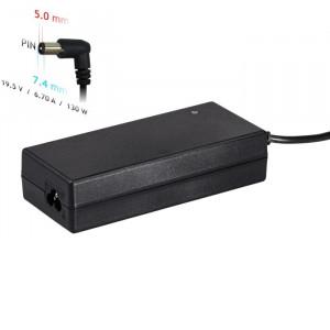 Τροφοδοτικό Laptop Akyga AK-ND-57 19.5V / 6.7A 130W 7.4 x 5.0 mm + pin Συμβατό με Dell 1.2m 5901720134486