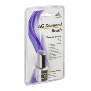 Thermal Grease TermoPasty AG Diamond Brush 4gr Suitable for Processors and Chipsets 5901764327172